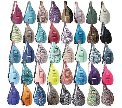 NEW KAVU ROPE BAG SLING COLORS UPDATED SLING MESSENGER CANVAS BACKPACK FREE - Coloring Backpack