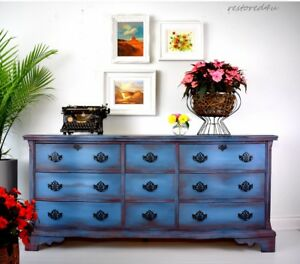 Large 9 drawer dresser