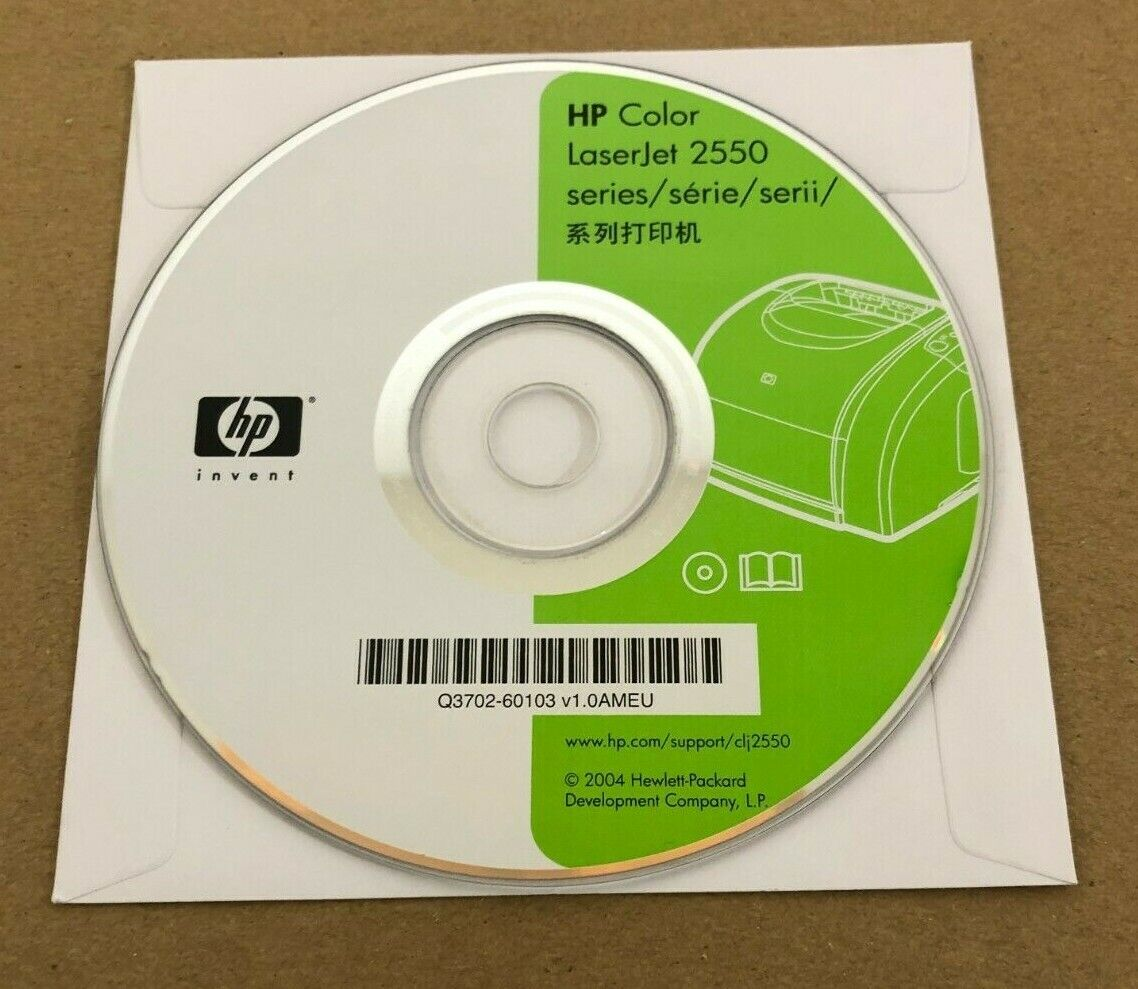 HP Color Laserjet 2550 software driver