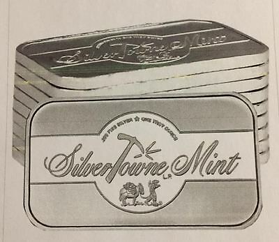 Special Price   Free Shipping  Silvertowne Mint Signature 1 Oz  999 Fine Silver
