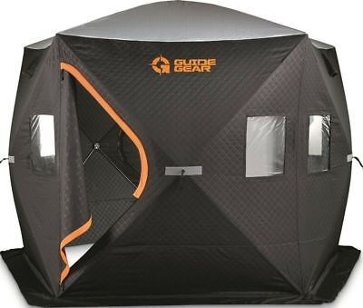 Guide Gear® 5-Hub Fully Insulated Ice Fishing Shelter