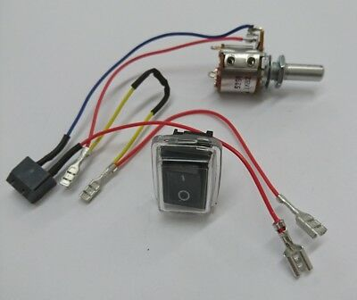 PowaKaddy Freeway EDF Potentiometer & On / Off Switch