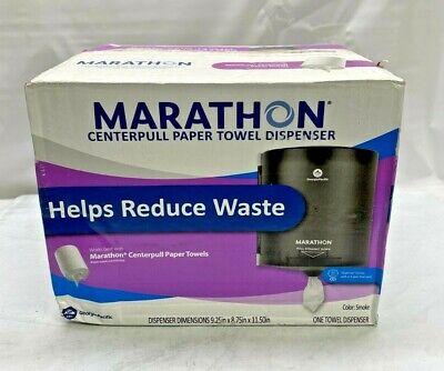 Marathon Centerpull Paper Towel Dispenser Smoke