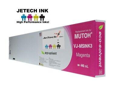 Mutoh Vj-msink3 Eco Solvent Compatible 440ml Ink Cartridges - Magenta