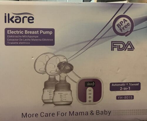 IKARE Hospital Grade Double Breast Pumps Electric Portable N