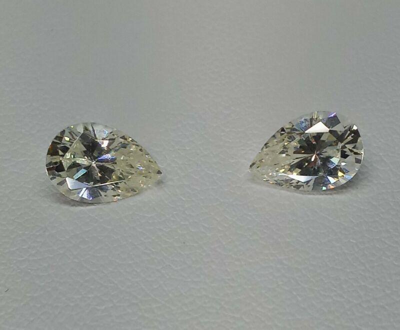 Fabulite strontium titanate Pale Canary Vintage gemstone.new ant/Vint stock fb42