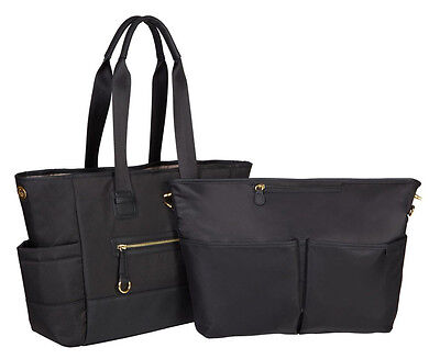 Skip Hop Chelsea 2-In-1 Downtown Chic Baby Diaper Bag Tote w/ Changing Pad