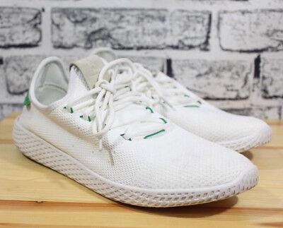 d2875b0237b3b Adidas Originals Pharrell Williams Tennis Human Race Shoes Mens BA7828  White 10