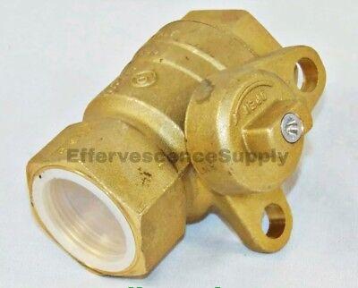 1-14 Fipxfip Brass Gas Ball Valve Inline Jomar Valve 240-006b