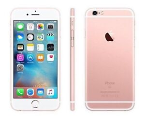 iPhone 6s Plus unlocked - rose gold / white