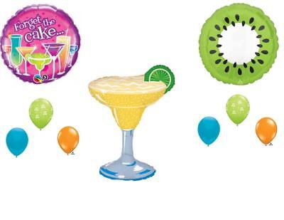 21st Birthday Party Decorations Supplies (MARGARITA COCKTAILS HAPPY BIRTHDAY PARTY BALLOONS Decorations Supplies)