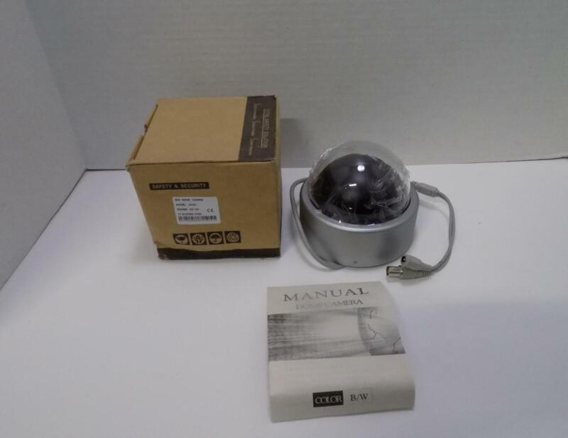 Total Safety Solution 2425V Black & White Dome Security Camera