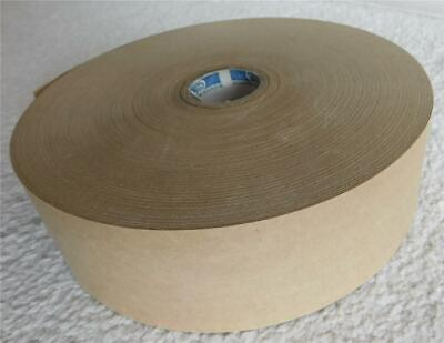 Brown Gummed Paper Packing Tape 2 Wide Huge Roll - No Idea How Long