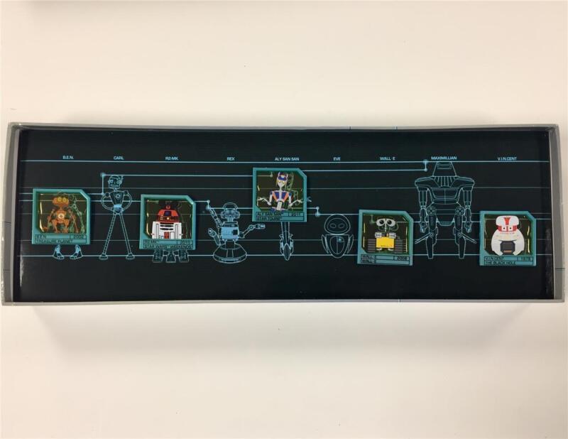 Disney ROBOTS Sci Fi Academy Pin Set LE /250 New in Box ~5 pins WALL-E Star Wars