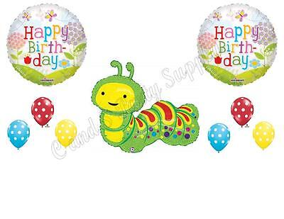 Caterpillar Birthday Party Supplies (HUNGRY CATERPILLAR Birthday Party Balloons Decoration Supplies Very)