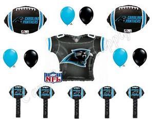 2016 CAROLINA PANTHERS SUPER BOWL Balloons Decoration Supplies Party Football