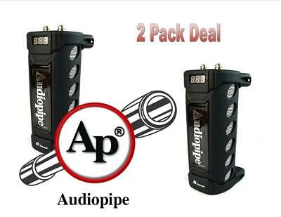 2 Pack 6 Farad Digital Capacitor VDC: 20V Max 24V Surge ACAP-6000 Audiopipe ()