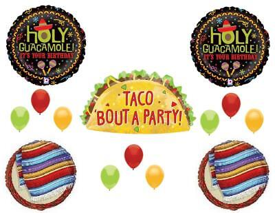 Taco Bout A Party Birthday Party Balloons Decorations Two Fiesta - Fiesta Balloons