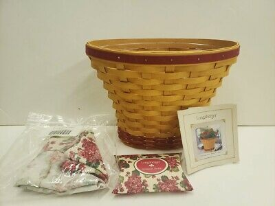 May Day Baskets (Longaberger 2002 May Series Mother's Day Geranium Basket Combo - BRAND)