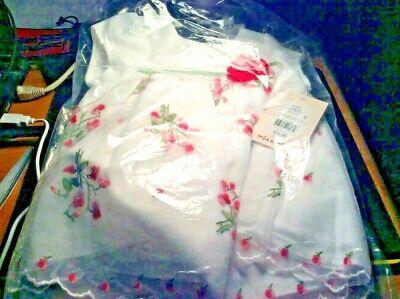 Baby Girls' Mia & Mimi A-Line Dress 2 Piece - Fuchsia Pink 6-9M New w/Tags