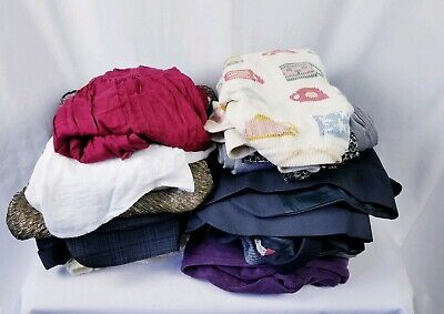 Wholesale Clothing Lot of 25 Womens Mens Juniors Kids All Sizes Thrift Store Lot