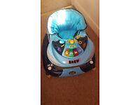 Kiddu Harley Rocker Baby Walker Blue With Box and Accessories