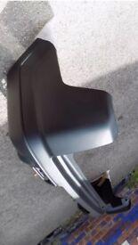 New rear bumper Honda CRV Mk2 black plastic