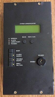 Est 2-smdn-c Fire Alarm System Annunciator