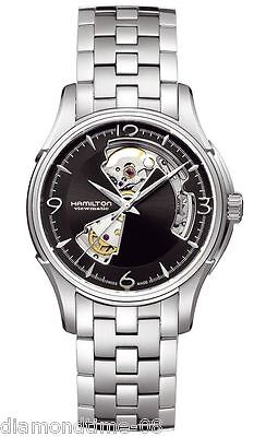 NEW HAMILTON JAZZMASTER OPEN HEART AUTOMATIC MEN'S WATCH H32565135