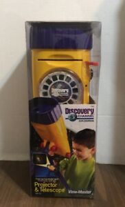 NEW FISHER PRICE DISCOVERY CHANNEL PROJECTOR AND TELESCOPE VIEW-MASTER
