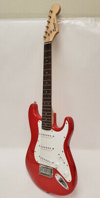 Squier Mini By Fender 6 String Electric Guitar - Red 5/L203782B