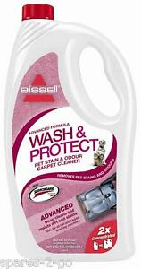 BISSELL Advanced Formula WASH & PROTECT Pet Stain & Odour Carpet Shampoo CLEANER