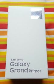 BRAND NEW SEALED SAMSUNG GALAXY GRAND PRIME PLUS in a Box with all the Accessories SIM FREE UNLOCKED
