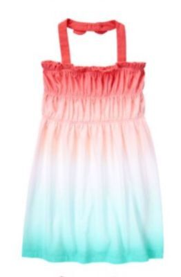 Gymboree NWT Girls Desert Dreams Knit Red White Blue 4th of July Dress 4 5 & 6 (4th Of July Dress)