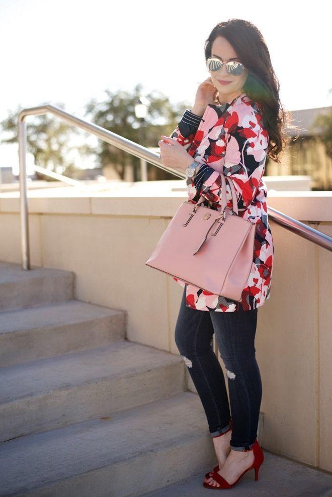 The Limited Floral Short Jacket