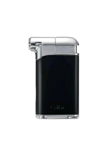 New Colibri Pacific Air Pipe Lighter Soft Flame in Black & C