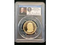 2008S PCGS PR69DCAM $ John Q Adams dollar Signature Edition