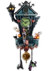 The Nightmare Before Christmas Cuckoo Clock by Bradford Exchange / Tim Burton's