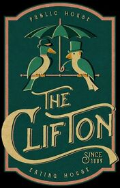 Experienced Floor and Bar Supervisors wanted to join the team at The Clifton Gastro Pub