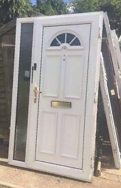 Upvc Front Door with Side Panel