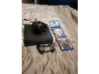PS4 500GB + 6 games