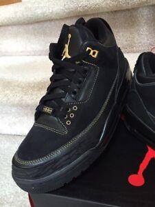Air Jordan 3 BHM size 9