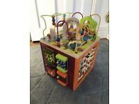 Zany Zoo Wooden Activity Cube for sale  North Shields, Tyne and Wear