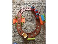 **Happyland train track and train set