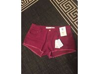 New wth tags size 12 short shorts