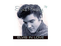 Elvis Presley elvis in love 2 LP vinyl record - like new