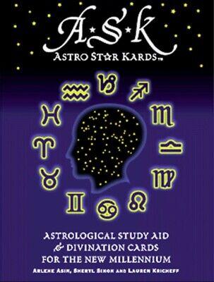 A S K  Astro Star Kards Astrolocal Study Aid & Divination Cards New Millennium