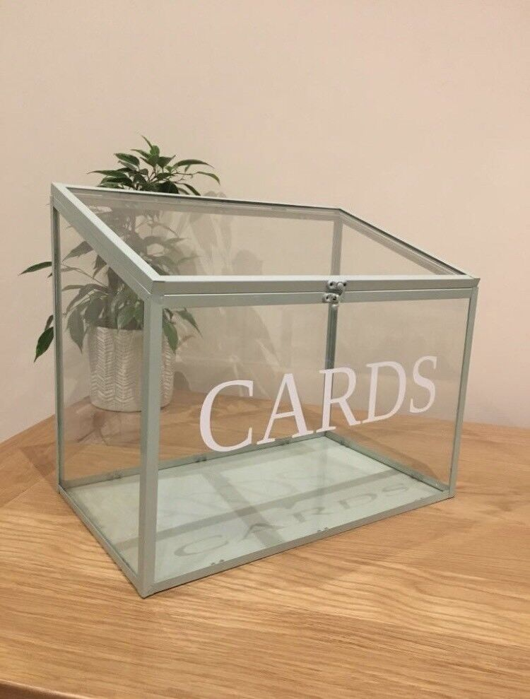 Wedding Card Box Glass In Bexley London Gumtree