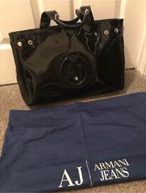 Black Armani Jeans Bag