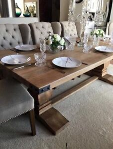 New Solid Hardwood French Provincial Or Hampton S Style Dining Table